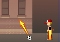 Jeux de foot : powershhot reload