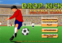 Jeux de foot gratuit : Drop kick extra time
