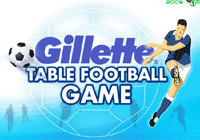Gilette table soccer