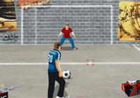 Against the wall : jeu de foot